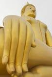 Wielki Buddha, Angtong, Tajlandia Obrazy Stock