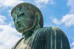 Wielki Buddha Daibutsu w Kamakura Japonia Zdjęcia Royalty Free
