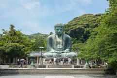 Wielki Buddha Daibutsu w Tokio Obraz Stock