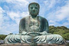 Wielki Buddha Daibutsu w Tokio, Japonia Obrazy Stock