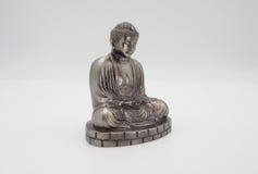 Wielki Buddha lub Daibutsu srebro model Obraz Royalty Free