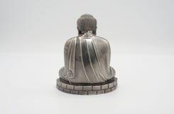 Wielki Buddha lub Daibutsu srebro model Zdjęcie Royalty Free