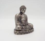 Wielki Buddha lub Daibutsu srebro model Fotografia Royalty Free