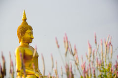 Wielki Buddha w Angtong, Tajlandia Zdjęcia Stock