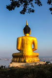 wielki Buddo złoty fotografia stock