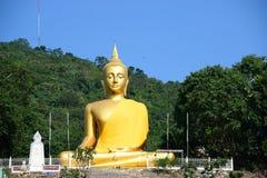 wielki Buddo złoty Fotografia Royalty Free