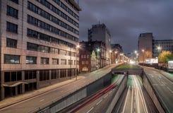 Wielki Charles Uliczny Queensway, Birmingham Obrazy Royalty Free