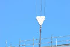 Wielki dźwigowy pulley Zdjęcia Royalty Free