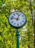 Wielki dekoracyjny zegar Obraz Royalty Free