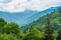 Wielki Dymiących gór park narodowy Fotografia Royalty Free
