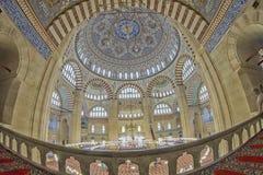 wielki Edirne selimiye indyk meczetowy Obraz Royalty Free