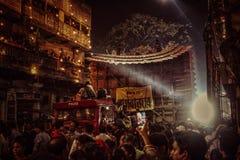 Wielki festiwal kiedykolwiek zdjęcia stock