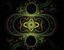 wielki fractal wzór Zdjęcia Royalty Free