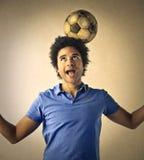 Wielki futbolista obraz royalty free