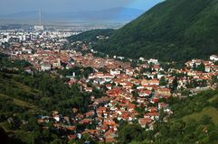 wielki górski miasta Fotografia Stock