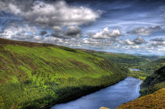 wielki glendalough jezioro Obrazy Royalty Free