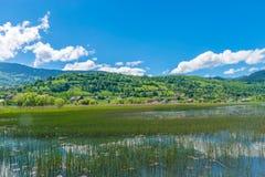 Wielki halny jezioro Zdjęcie Stock