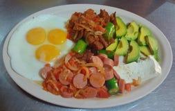 Wielki i Wyśmienicie śniadanie Zdjęcie Stock