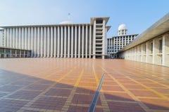 Wielki Istiqlal meczet Zdjęcia Royalty Free