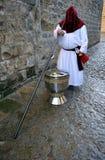 Wielki kadzidłowy palnik, Święty tydzień w Baeza, Jaen prowincja, Andalusia, Hiszpania Fotografia Stock