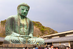 wielki Kamakura buddy Obraz Royalty Free