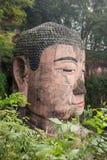 Wielki kamienny Buddha w Chiny obraz stock