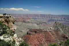 wielki kanion z widokiem na Obrazy Royalty Free