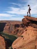 wielki kanion z widokiem na Zdjęcia Stock