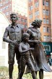 Wielki kartoflany głodu pomnik, Boston, 2014 Obrazy Royalty Free