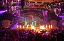wielki koncert Zdjęcie Stock