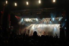 wielki koncert Zdjęcia Royalty Free