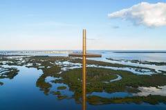Wielki krzyża St Augustine FL fotografia royalty free
