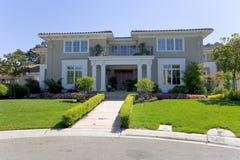 wielki luksusowy dom fotografia stock