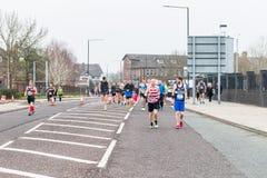 WIELKI MACHESTER maraton w Machester, UK obrazy stock