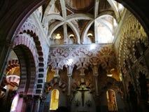 Wielki meczet cordoba obrazy royalty free