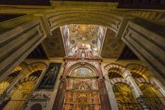 Wielki meczet cordoba, Andalusia, Hiszpania Zdjęcie Stock