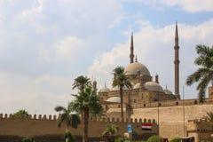 Wielki meczet Muhammad Ali Pasha lub alabaster meczet Egipt Obrazy Royalty Free