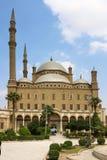 Wielki meczet Muhammad Ali Pasha lub alabaster meczet Egipt Fotografia Stock