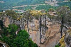 Wielki monaster Meteor, Grecja Obrazy Stock