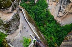 Wielki monaster Meteor, Grecja Zdjęcie Royalty Free