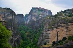Wielki monaster Meteor, Grecja Obrazy Royalty Free