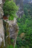 Wielki monaster Meteor, Grecja Fotografia Royalty Free