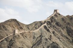 wielki mur Zdjęcie Stock