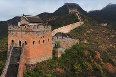 wielki mur. zdjęcia stock