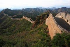 wielki mur. obraz stock