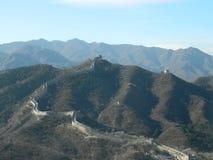 Wielki mur Chiny Obrazy Royalty Free