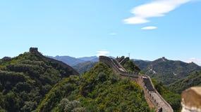 Wielki Mur Chiny, Badaling Fotografia Royalty Free