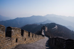 Wielki mur Chiny, Mutianyu sekcja obraz stock