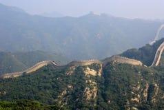 Wielki mur, miejsce Badaling Obraz Royalty Free