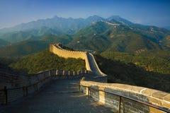 Wielki mur porcelana badaling Zdjęcia Royalty Free
